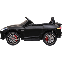 JAMARA KIDS Ride-on Jaguar F-Type SVR 12V Modellfahrzeug, Schwarz
