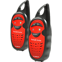 ALBRECHT Tectalk Smile Kinder Walkie Talkie Rot