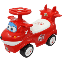 JAMARA Rutscher Super Wings Jet rot Kinderrutscherauto, Rot