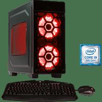 HYRICAN STRIKER 6505 RED, Gaming PC mit Core™ i9 Prozessor, 16 GB RAM, 480 GB SSD, 2 TB HDD, Geforce RTX 2080 Ti, 11 GB