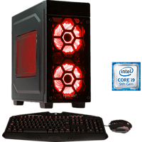 HYRICAN STRIKER 6504 RED, Gaming PC mit Core™ i9 Prozessor, 16 GB RAM, 480 GB SSD, 2 TB HDD, Geforce RTX 2080 SUPER, 8 GB
