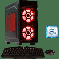 HYRICAN STRIKER 6503 RED, Gaming PC mit Core™ i9 Prozessor, 16 GB RAM, 480 GB SSD, 2 TB HDD, Geforce RTX 2070 SUPER, 8 GB