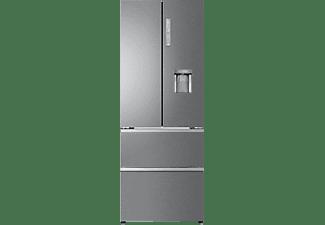 HAIER B3FE788CPJW Kühlgefrierkombination French Door (E, 1905 mm hoch, Edelstahl)