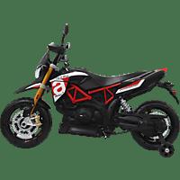 JAMARA Ride-on Aprilia Dorsodoru 900 12V Modellfahrzeug, Rot/Schwarz