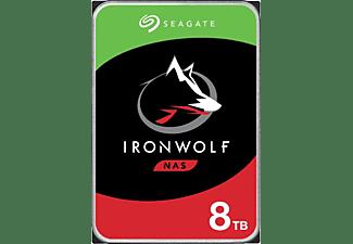 SEAGATE Festlplatte IronWolf NAS HDD 8TB, SATA 6Gb/s, 3.5 Zoll (ST8000VNA04)