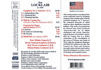 Peter Mikula, Slovaki National Symphony Orchestra - Sinfonie 2 'America'  - (CD)