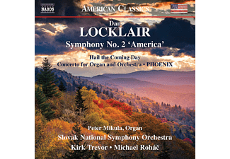 Peter Mikula, Slovaki National Symphony Orchestra - Sinfonie 2 'America'  - (CD)