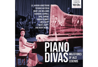 VARIOUS - MILESTONES OF JAZZ: PIANO DIVAS  - (CD)