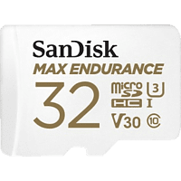 SANDISK Max Endurance, Micro-SDHC Speicherkarte, 32 GB, 100 MB/s
