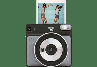 FUJIFILM instax SQUARE SQ6 Travel Set Sofortbildkamera, Graphite Gray