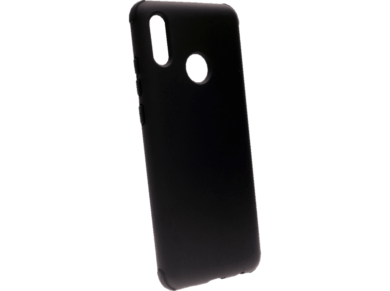 AGM 29846 Rubber , Backcover, Huawei / Honor, P Smart 2019 / 10 Lite, Thermoplastisches Polyurethan, Schwarz