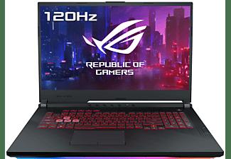 "Portátil gaming- ASUS ROG Strix G G731GU-H7154, 17.3"", FHD, i7-9750H, 16GB RAM, 512GB SSD, GTX1660Ti, Freedos"