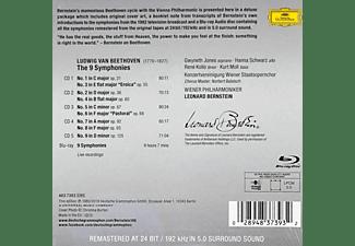 Kurt Moll, Hanna Schwarz, René Kollo, Wiener Philharmoniker, Jones Gwyneth - Beethoven: Die Sinfonien  - (CD + Blu-ray Audio)