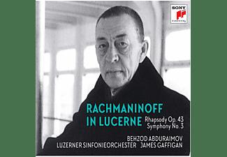 Behzod Abduraimov, Luzerner Sinfonieorchester, James Gaffigan - RACHMANINOFF IN LUCERNE - RHAPSODY ON A THEME OF P  - (CD)