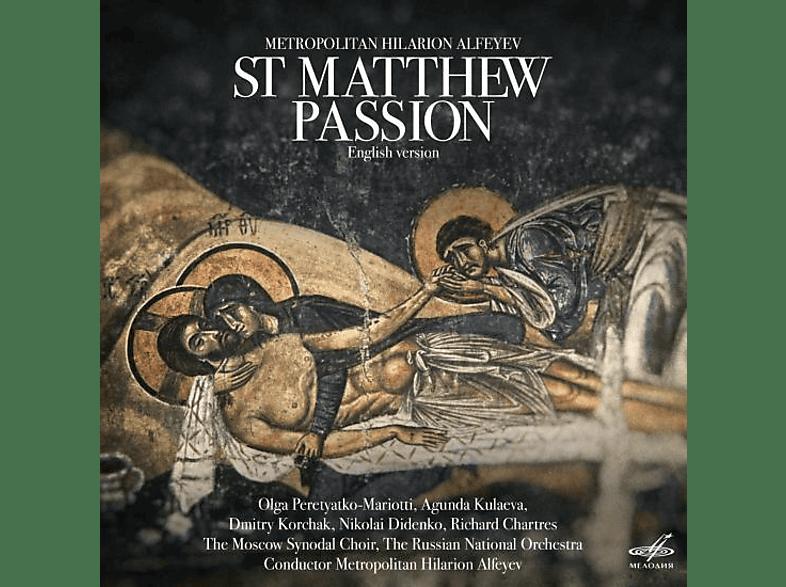 ALFEYEV: St Matthew Passion Alfeyev/Moscow Synodal Choir/+