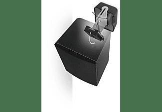 Soporte altavoces - Vogel's 3200 Black, Pared, Inclinable 30º, Giratorio 70º, Negro