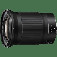 NIKON Nikkor Z - 20 mm f./1.8 (Objektiv für Nikon Z-Mount, Schwarz)