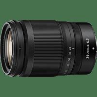 NIKON Nikkor Z 24 mm - 200 mm f./4.0-6.3 IF (Objektiv für Nikon Z-Mount, Schwarz)
