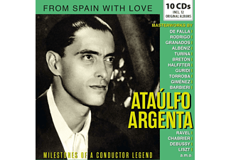 Ataulfo Argenta - Milestones Of A Conductor Legend  - (CD)