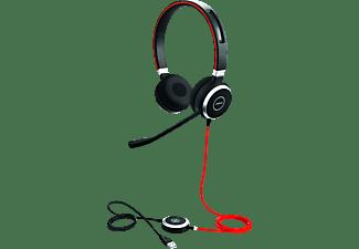JABRA Evolve 40 UC binaural Headset Schwarz