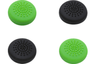 SNAKEBYTE Für Xbox One Controller 4er Pack, Controller Caps, Schwarz/Grün