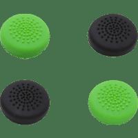 SNAKEBYTE Für Xbox One Controller 4er Pack Controller Caps, Schwarz/Grün