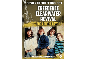 Creedence Clearwater Revival - Born On The Bayou (Collector Box) DVD