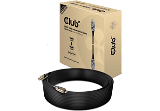 CLUB-3D Hybrides aktives optisches Kabel HDMI™ 2.0 HDR 4K60Hz Stecker/Stecker 30 Meter