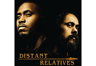 Damian Marley, Nas - Distant Relatives (2LP Gatefold)  - (Vinyl)