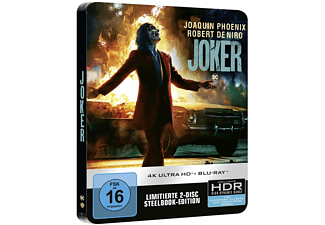 Joker (SteelBook®) 4K Ultra HD Blu-ray + Blu-ray