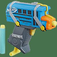 NERF NER MS FORTNITE BATTLE BUS Mini-Blaster, Mehrfarbig