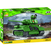 COBI 2476A T34/85 Small Army Klemmbausteine-Set, Mehrfarbig