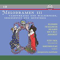 .Peter P Pachl, Rainer Maria Klaas - MELODRAMEN III - VAMPYRKATZE [CD]