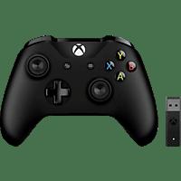 MICROSOFT Xbox Controller + Wireless Adapter für Windows Controller
