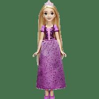 HASBRO Schimmerglanz Rapunzel mit glitzerndem Rock, Krone und Schuhen Puppe Mehrfarbig