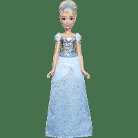 HASBRO Schimmerglanz Cinderella mit glitzerndem Rock, Krone und Schuhen Puppe Mehrfarbig