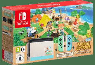 NINTENDO Switch Groen / Blauw + Animal Crossing: New horizons