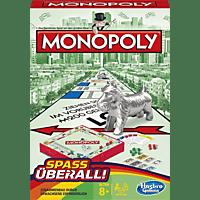 HASBRO Monopoly Kompakt Gesellschaftsspiel, Mehrfarbig