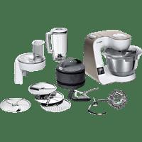 BOSCH MUM5XW20 Küchenmaschine Weiß (Rührschüsselkapazität: 3,9 Liter, 1000 Watt)
