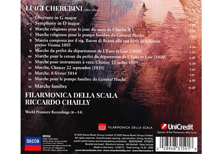 Riccardo Chailly - CHERUBINI: OVERTURES And MARCHES  - (CD)