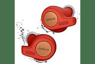 JABRA Elite Active 65T, In-ear True-Wireless-Kopfhörer Bluetooth Kupfer/Rot