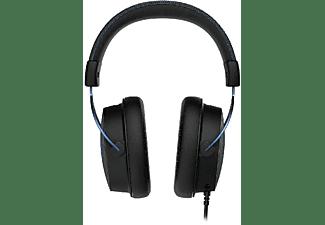 Auriculares Gaming - Hyper X Cloud Alpha S HX-HSCAS-BL/WW, Con cable, USB, Micrófono, Negro y Azul