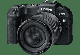 CANON Systemkamera EOS RP, schwarz mit Objektiv RF 24-105mm f4.0-7.1 IS STM (3380C133)
