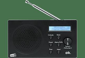 OK. DAB+ Radio ORD-101-BT, schwarz