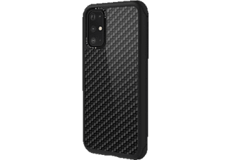 BLACK ROCK Robust Real Carbon, Backcover, Samsung, Galaxy S20+, Schwarz