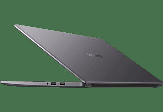 HUAWEI Matebook D15, Notebook mit 15,6 Zoll Display, AMD Ryzen™ 5 Prozessor, 8 GB RAM, 256 GB SSD, Radeon™ Vega 8 Grafik, Space Grey