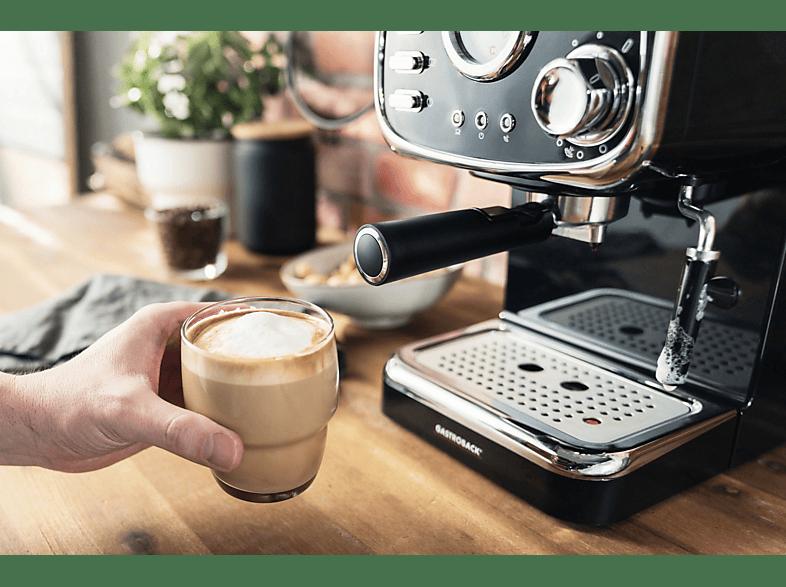 Espressomaschine-Siebträger-Gastroback
