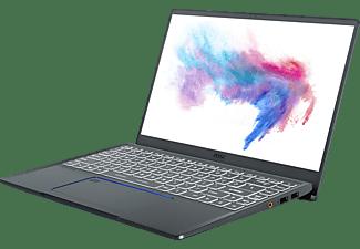 MSI Prestige 14 A10SC-010, Gaming Notebook mit 14 Zoll Display, Core™ i7 Prozessor, 16 GB RAM, 512 GB SSD, GeForce® GTX 1650 mit Max-Q Design, Carbon Grau