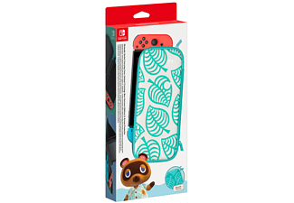 Funda - Nintendo (Ed. Animal Crossing: New Horizons), Para Nintendo Switch, Protector de pantalla, Verde