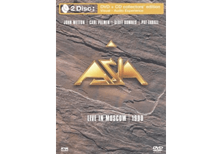 Asia - Live In Moscow 1990 (DVD + CD)